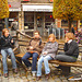 Louvain - Leuven / Ados belges - Teenagers charming Quartet / With - avec  Permission / Belgique - Belgium.  10 novembre 2007.