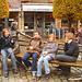 Louvain - Leuven / Ados belges - Teenagers charming Quartet / With - avec  Permission / Belgique - Belgium.  10 novembre 2007.