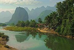 Nam Xong river near Pha Tang