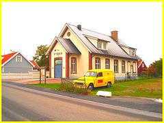 Fyren and yellow Volvo / Volvo jaune Fyren - Båstad, Sweden / Suède - October 21th 2008