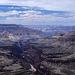 Blick auf den rosa Fluss - der Colorado River