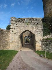 Brancion village médiéval - la porte du village