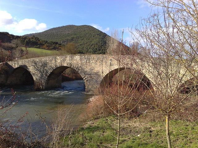 Puente en Sorauren.(Navarra)