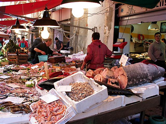 Sicilia - Siracusa Fischmarkt