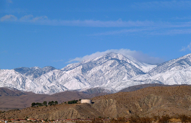 Mt. San Gorgonio With Snow (2388)