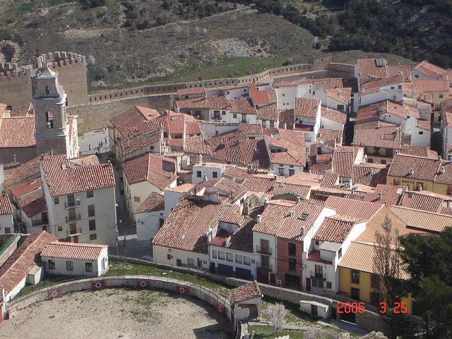 Vista d'ocell nord de Morella