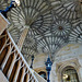 great hall stairs, christ church, oxford