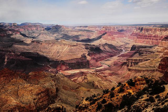 Grand Canyon - wenn der Dunst weggepixelt wird ...