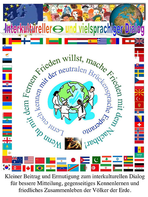 Interkultura kaj multlingva dialogo - en germana lingvo
