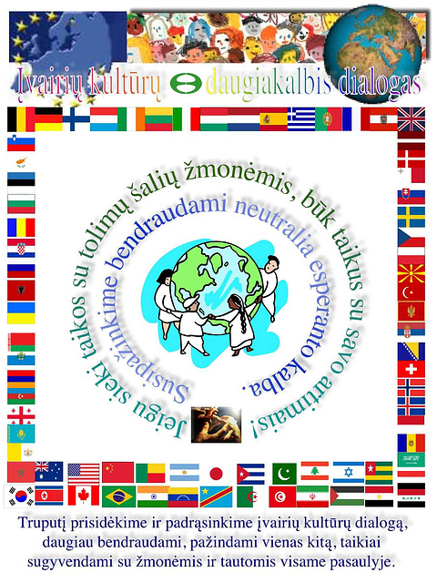 Interkultura kaj multlingva dialogo - en litova lingvo