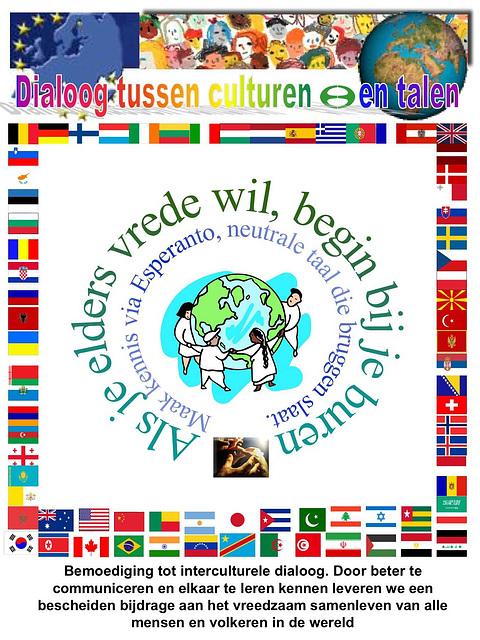 Interkultura kaj multlingva dialogo - en nederlanda lingvo