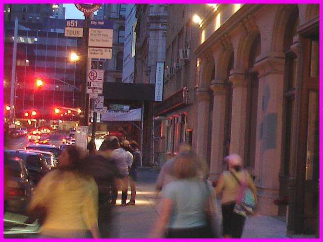 Blue mission- Mission en bleu- NYC.