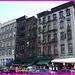 Channeled block / Pâtés de bâtiments canalisés- Canal Street- NYC.