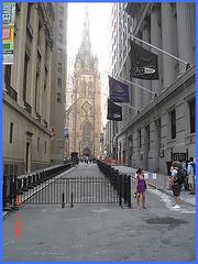 Equinox & religious perspective- Équinoxe & perspective religieuse- NYC- 19-07-08