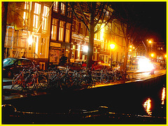 Entresol graffitis / Amsterdam - Novembre 2007.
