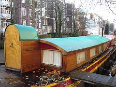 Amsterdam- Floating houses / Maisons flottantes - November 2007.