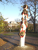 Amsterdam- Psychedelic tree in the park / Arbre psychédélique dans le parc -  November 2007