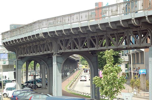 U-Bahnbrücke in Hamburg