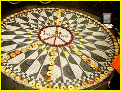 Imagine memories-  Merci  ! / Thanks ! John Lennon -Central park- NYC.