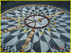 Imagine memories-  Merci  ! / Thanks ! John Lennon -Central park- NYC.