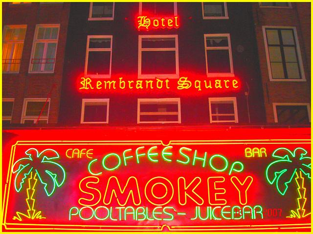 Amsterdam- Hotel Rembrandt Square-  10 novembre 2007 / Photofiltration.