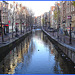 Amsterdam / Les canards ponctuels du Red Light / Red Light by the morning duck.