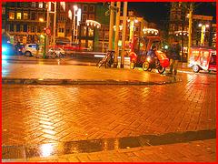 Amsterdam - Mc Donald Taxi  /  11 novembre 2008.
