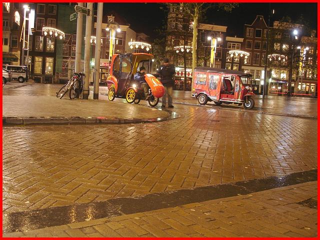 Amsterdam- Mcdo Taxi- Novembre 2007.
