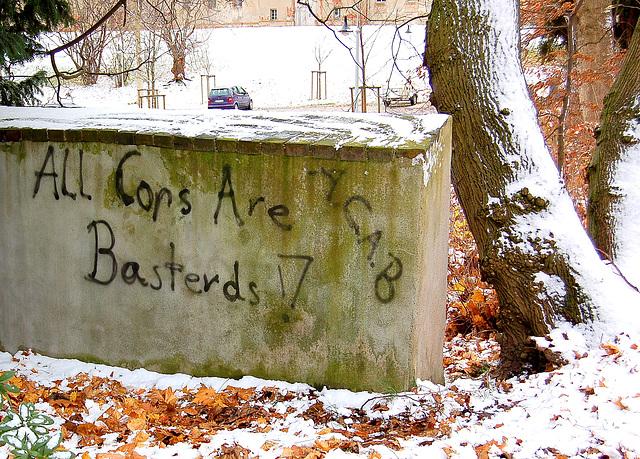 All cops are basterds! (A.CA.B.)