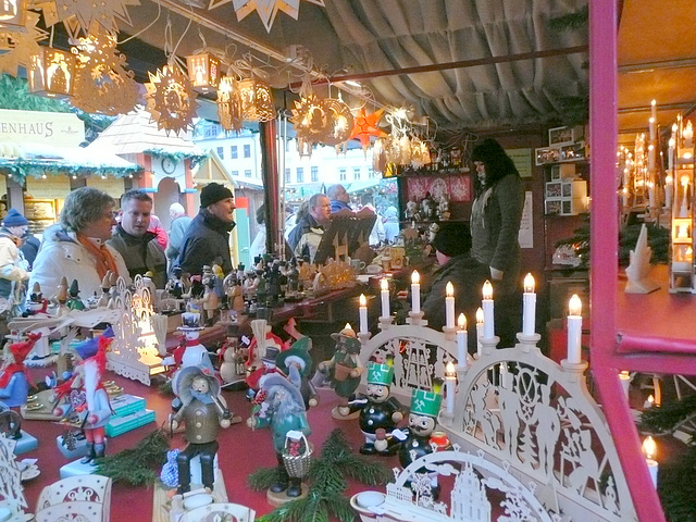 Weihnachtsmarkt in Annaberg