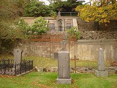Helsingborg cemetery - Cimetière de Helsingborg- Sweden / Suède - The Olssons & Hanna / 22 octobre 2008