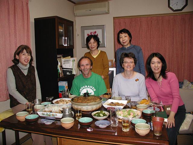 La vespermanĝo ĉe la domo de Juriko