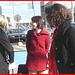 Jeune Déesse sexy en rouge /  Young Goddess in red -  Aéroport Pierre - Elliot Trudeau de Montréal. 18 octobre 2008.