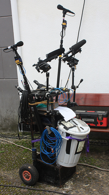 Equipment für eine Telenovela