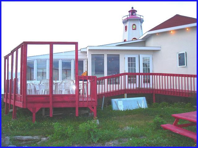 Resto de Pointe-au-père,  Québec. CANADA. 23 Juillet 2005.