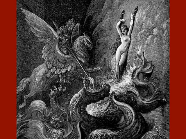 Orlando Furioso, gravure de Gustave Doré