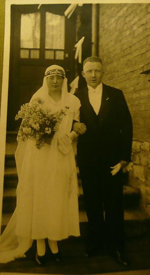 Hochzeit meiner Eltern am 8.April 1931