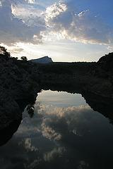 Sainte Victoire vue du barrage Zola