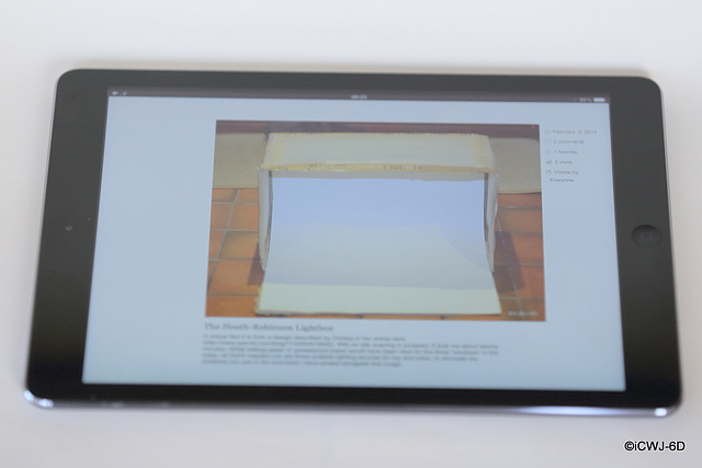 Lightbox within an iPad within a Lightbox...