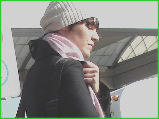 La Jeune Diva Vinci - Vinci Lady- Aéroport de Montréal- 18 octobre 2008