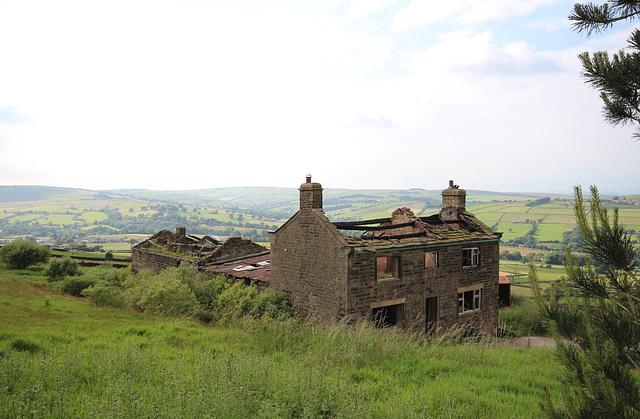 Derelict Farmhouse, Cross Hills, North Yorkshire