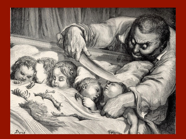 Le Petit Poucet, gravure de Gustave Doré
