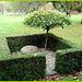 Cimetière de Copenhague- Copenhagen cemetery- 20 octobre 2008 - Roche funéraire sous parapluie nature - Funeral rock underneath  Mother Nature umbrella
