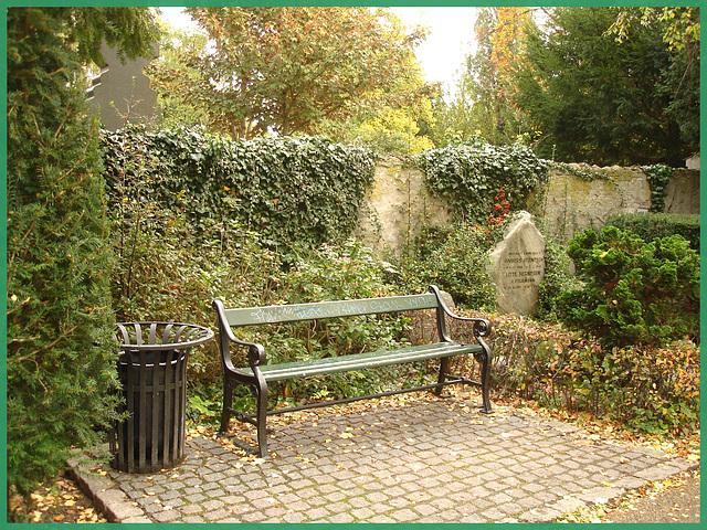 Cimetière de Copenhague- Copenhagen cemetery- 20 octobre 2008-Pause cimetière - Cemetery break-