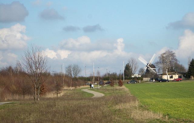 die Windmühle in Hannover Anderten