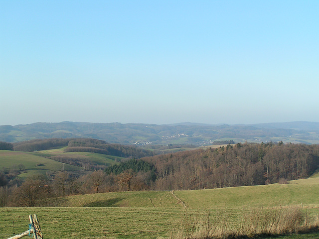 Odenwald - Wanderweg zum Götzenstein