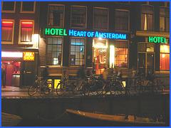 Amsterdam- Red Light Zone- Heart of Amsterdam - 10 novembre 2007.