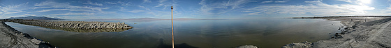 Salton Sea From The West Shore (3)