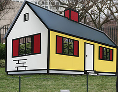 04.House1.RoyLichtenstein.NGA.SculptureGarden.WDC.,28dec08