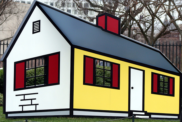 04a.House1.RoyLichtenstein.NGA.SculptureGarden.WDC.28dec08
